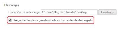 Descargas Google Chrome