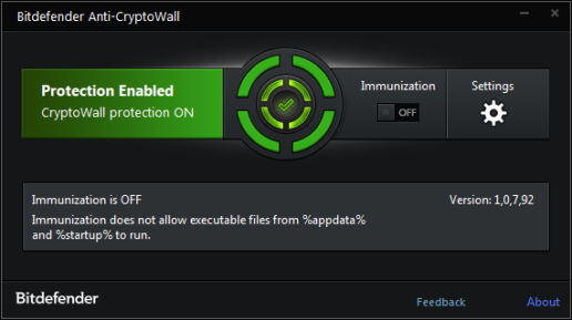 Bitdefender Anti-CryptoWall